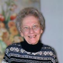 Joan Frances Mathison