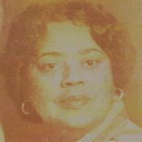 Sis. Georgia Faye Chadwick