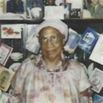 Mrs. Annie Mae Johnson