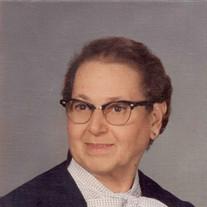 Mrs Ella F. (nee Zlodi) Hallas