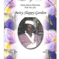Betty Sue Gordon