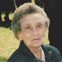 Mrs. Evelyn Rees Marshall