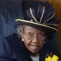 Mrs Marie Johnson Jones