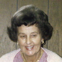 Mrs. Herta Ruth Sanders
