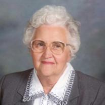 Mrs. Mildred Huggard (nee Pillon)