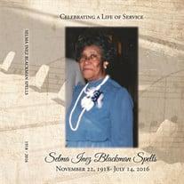 Selma Inez Blackman Spells