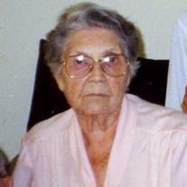 Pansy Lorene McNees