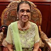 Mrs. Sukhrajie Gangapersaud