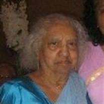 Mrs. Zena  Wickramasekera of Chicago