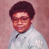 Mrs. Fannie Mae Jordan