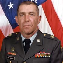 SGM William Joseph McBride