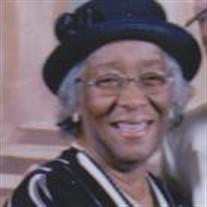 Mrs. Sadie Frazier Biggs