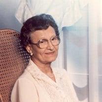 Fannie Hutchinson