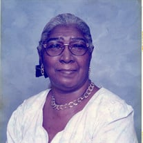 Mrs. Mattie Mae Whittenburg-Gordon