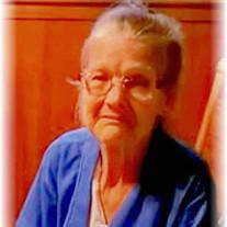 """Ms Betty Jean """"Nanny"""" Wray"""