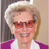 Sister Jane Claire Simon SSND