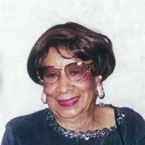 Mrs. Alma Bradley Matthews Parker