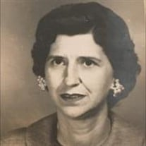 Mrs. Florence Lesline Patty