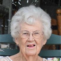 Ms. Martha Sophia Olson Wigstrom