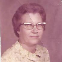 Mrs. Wilma Nadine McAnally