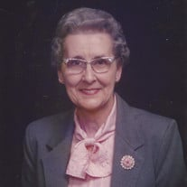 Clara Virginia Wilkins