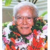 Dr Kazuo Teruya