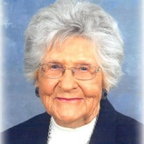Mamie Young Elam Gilchrist of Selmer, TN