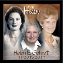 Helen E. Gehret