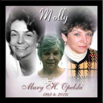 """Mary H. """"Molly"""" Opelski"""