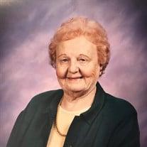 "Marjorie J. ""Peggy"" Sternburgh"