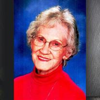"""Norma """"Jeanne"""" Adams Parker"""