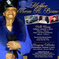 Mother Verna H.  Beane