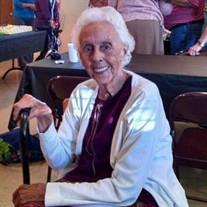 """Mrs. Doris """"Sister"""" Evelyn Roach Gillespie"""