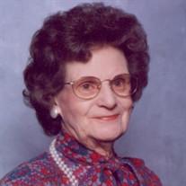 Mrs. Rubie Sharp Baxter