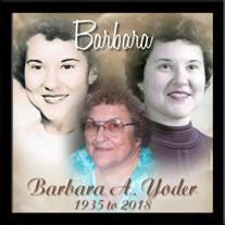 Barbara A. Yoder