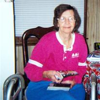 Mrs. Mildred Strickland Pritt