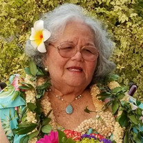 Peggy Namaka O'Kaha'i Kawelo Villanueva