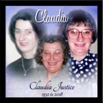 Claudia Justice