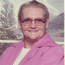 Velma Gracia (Threlkeld) Hatfield