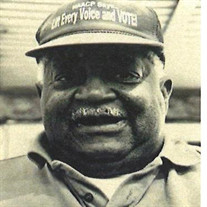 Mr. Willie McDonald, Sr.