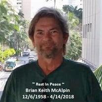 Brian Keith McAlpin
