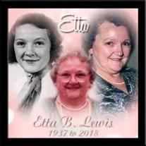 Etta B. Lewis