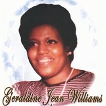 Geraldine Jean Williams