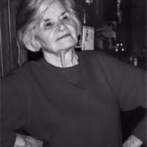 Mrs. Mary Elizabeth Byers Hornbeck