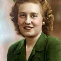 Mrs. Kathryn Irene Luebke Marshall