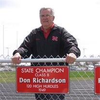 """Mr. Donald E. """"Donnie"""" Richardson"""