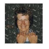 "Mrs. Velda E. ""Judy"" (Fletcher) Crist"