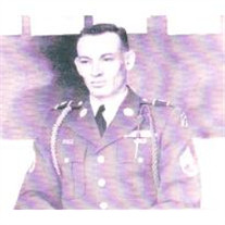 First Sgt. Ray M. Hix, U.S. Army, Retired