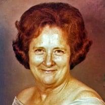 Mrs. Gladys Marie ThroneberryAdcock Burrow