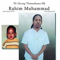 Raheim Muhammad